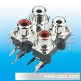 RCA,AV同芯插座,jack,音频插座