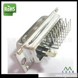 DVI弯头连接器东莞产家生产 DVI 24+5 90度公头插板式 热销产品