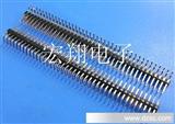 TJC8杜邦2.54双排弯针座,双排针座、排针