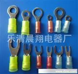 大量/尼龙带铜套冷压端子 易进式冷压端子 圆形冷压端子 透明