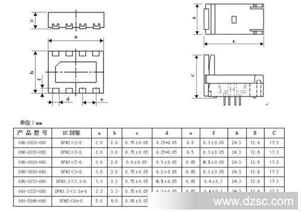 接口类型:sot 型号/规格:sot563 品牌/商标:进口 种类:接线座/接线板