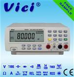 VC8145真有效值多功能高精度双数显台式数字万用表(带USB接口)