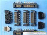 SATA22P线端铆压公头成品