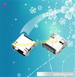 高品质MINI USB 12PIN DIP双排母座连接器,迷你usb母座