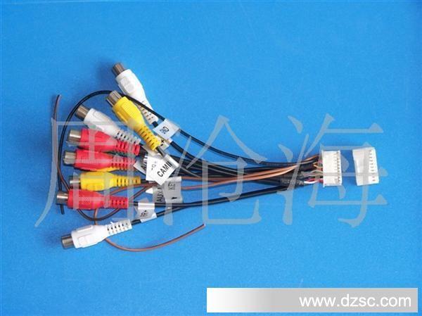 供应汽车音响连接器,连接线,端子线,排线