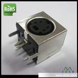 厂家S端子插座,S 端子4P全包90度插板式端子全锡优质厂商
