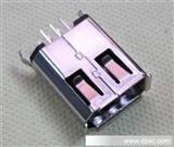1394连接器 6P母座 180度插板