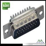 东莞D-SUB接口 HDB26P公头焊线式电脑接口厂家长期品质稳定