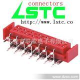 红色IDC母座90度带卡位,AMP338070,联索料号:1127WXXREL9TSNC1