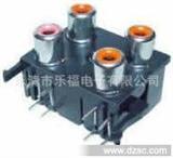 厂家RCA同芯插座、音视频插座欧盟ROHS标准,SGS环保认证