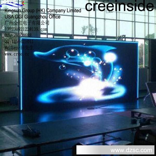 P6 P5 P4 室内全彩LED显示屏 creeinside led TV screen