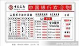 LED电子利率牌-农行/信用社/中行