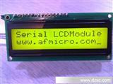 单线式UART串行接口1602 LCD液晶显示模块