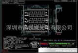 LCD液晶显示屏,电力仪表  电表,水表 LCD电子温控器