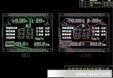 电动车控制仪表lcd液晶屏  图纸