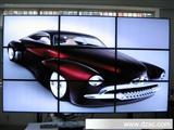 最新产品三星55寸大屏液晶拼接电视墙、内置拼接处理器