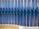 1% 1/4W编带直插金属膜电阻金膜电阻器