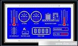 用水系统 段码HTN液晶屏 负显蓝低白字
