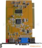 PCI视频转换卡VGA转AVVGA转莲花头电脑转电视视频转换器Av850