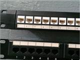 机架式24芯网络配线架,24芯RJ45配线架,网络配线架
