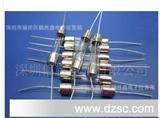 玻璃电流保险丝管普通单帽快熔带引线6X30 250V外焊
