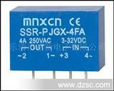 铭新JGX-4FA焊接型PCB固态继电器