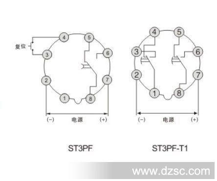 【高度牌】超级时间继电器st3pf/st3pf-t1