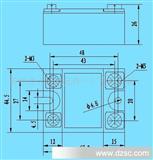 GJH55-W交流过零型固态继电器(图)