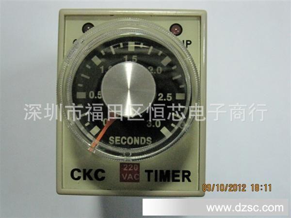 供应 松菱CKC 时间继电器 AH3 2 AC220 3S