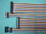 电子彩排线/彩虹排线/彩色屏蔽线/28AWG彩排线