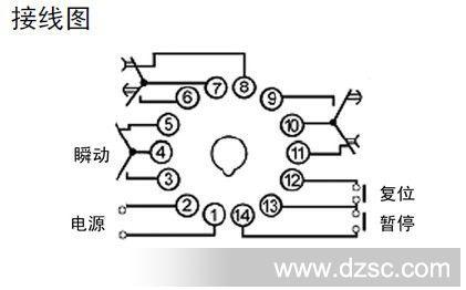 热销dh11s时间继电器 dhc大华仪表宁波总公司