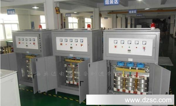 隔离变压器由圆筒式绕组和迭片式铁芯组成