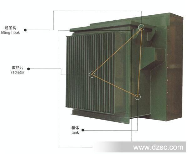 10kv美式箱变 yb27-12/0.4-315kva变压器