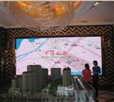 室内超薄5米长3米高LED电子显示屏造价