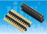 厂家优势双塑排针排母