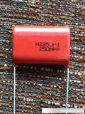 HJC(华容)金属化聚酯电容    CL21电容/MEF/224J/400V P=15