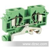 笼式接地型接线端子UJ1-2.5/3JD  东莞【友邦电气】 弹簧接线端子