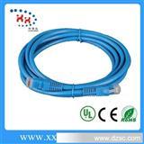 网线厂家直销超五类网络跳线 非屏蔽网络跳线 带RJ45水晶头跳线