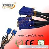 优质优价各类高品质VGA线 VGA高清显示器连接线 hdmi转vga线