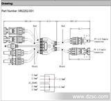 光伏系统连接器Y-Cable4转2