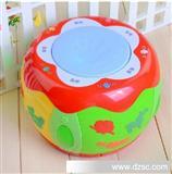 蕊芯动感鼓AP866充电拍拍鼓 婴儿玩具手拍鼓 启蒙故事机MP3