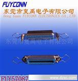 TYCO 57(CN)系列-180度14P 24P 36P 50P 64P母铆螺母勾耳连接器