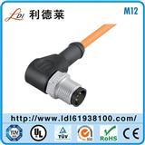 M12连接器厂家,M12连接器价格替代宾德原装