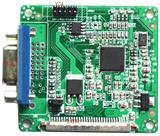 LVDS转VGA DVI模块LVDS转双VGA主板