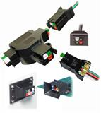 Anderson 1460G1 1461G1 1470G1 4P/6拼电源大电流连接器 卡扣连接器