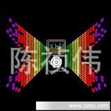 厂家EL发光片   冷光片   发光衣服片可定制logo