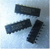 SN74HC00N 芯片 逻辑电路 - 四2输入与非门 DIP14 全新原装正品现货