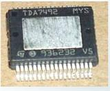 STM双声道大功率D类音频功放IC  TDA7492 全新原装 SSOP36 ST