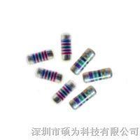 供应高精密金属膜MELF0204无引线0207圆柱型晶圆电阻器