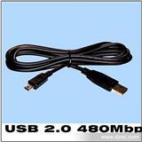 长期 小型usb线 usb转3.5线 双usb线 USB数据线批发
